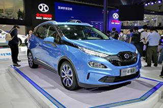 量产版终于来了 广州车展实拍北汽新能源EX3