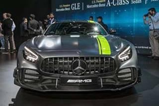 奔驰最强性能版车型 新款AMG GT R Pro正式亮相