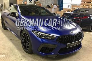 BMW最战斗车型?M8 Competition有望明年1月发布