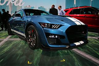 MustangGT500北美车展亮相