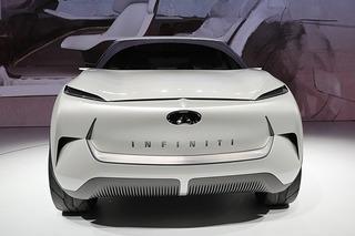 来自未来的科幻小怪兽 实拍英菲尼迪全新概念车