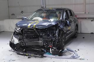 新款本田CR-V碰撞成绩出炉 乘员正面保护到位