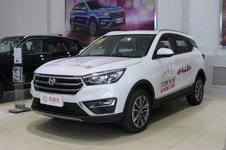 汉腾X5新增AT版本车型 动力/油耗均保持不变