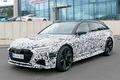 新奥迪RS 6 Avant于9月发布 动力升级/3.5秒破百