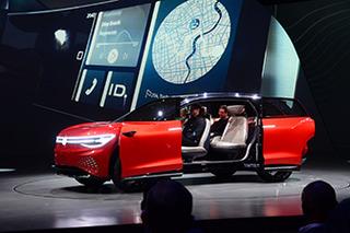 旗舰纯电SUV将后年上市 大众ID. ROOMZZ全球首秀