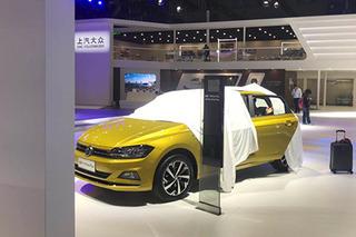 2019上海车展探馆:上汽大众全新Polo Plus