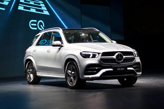 拉开SUV年大幕 奔驰EQC/全新GLE/GLB概念车亮相