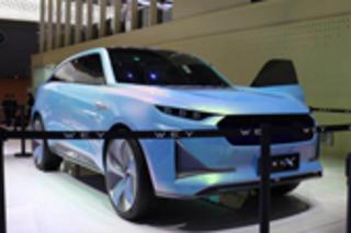 WEY旗舰概念SUV亮相 对开门设计/有望量产
