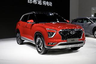 全新面孔你看如何 上海车展实拍新一代现代ix25