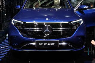 奔驰首辆入华电动SUV 2019上海车展实拍奔驰EQC