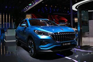 首款量产纯电动SUV 上海车展实拍红旗E-HS3