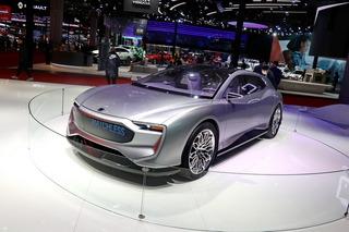 看上海车展的概念车