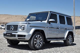新款奔驰G级上市 配置提升/158.80万元起售