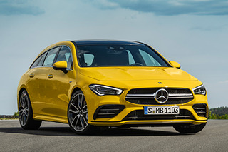 Mercedes-AMG CLA35 4Matic Shooting Brake unveiled