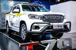 国内首款柴油国6皮卡 上汽大通T70今日正式上市