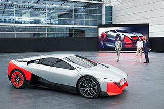 BMW reveals radical new Vision M Next