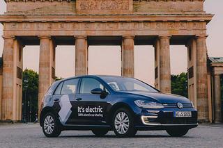 大众在德国组建共享车队 纯电动汽车是