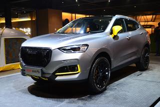 增灰色車漆/配黃色運動套件 哈弗新款F5正式亮相
