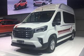 上汽MAXUS V90房車開啟預售 售33.98萬-36.98萬