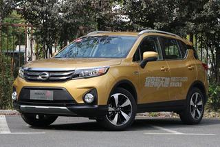 广汽传祺新款GS3上市 推出8款车型/售价7.68万起