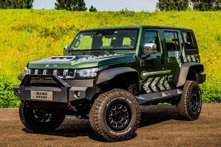 开上这车去爬山! BJ40雨林穿越版售26.99万元