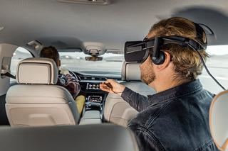 奥迪新增VR技术令乘客不再忍受长途旅行的乏味